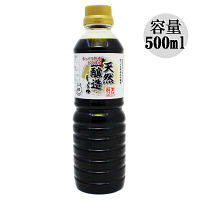 伊賀越醤油 天然醸造醤油 500ml
