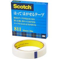 スリーエム スコッチはってはがせるテープ 811-3-18 幅18mm×30m