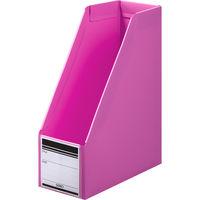 ボックスファイル組み立て式 A4タテ PP製 ピンク セリオ