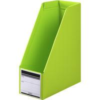 セリオ ボックスファイル 組み立て式 PP製 A4 縦 グリーン