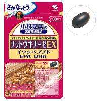 小林製薬の栄養補助食品 ナットウキナーゼEXイワシペプチド EPA DHA 約30日分 60粒