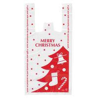 【クリスマス】 プチキュートレジ袋 クリスマスツリーS 180×350×100mm XPC-S-S 1パック(20枚入) HEADS
