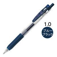 ゲルインクボールペン サラサクリップ 1.0mm ブルーブラック 紺 10本 JJE15-FB ゼブラ