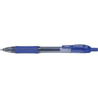 ゼブラ ジェルインク(水性) ノック式 サラサ 1.0mm 青軸 青インク JJE3-BL 1セット(10本入り)(直送品)