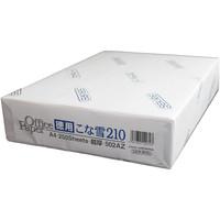 セキレイ ジツタ ケント紙 こな雪210(超厚) A4 502AZ 250枚入