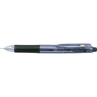 ゼブラ ゲルインク多色多機能ボールペン サラサ2+S 0.5mm 2色+シャープ 黒軸 SJ2-BK 2本 (直送品)