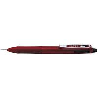 ゼブラ ゲルインク多色多機能ボールペン サラサ2+S 0.5mm 2色+シャープ レッド軸 SJ2-R 2本 (直送品)