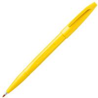 ぺんてる 水性サインペン 黄色 S520-GD 10本 (直送品)