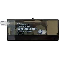トンボ鉛筆【MONO】修正テープ 使いきりタイプ モノノート 2.5mm×4m 黒 CT-YCN2.5C11 5個 (直送品)