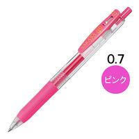 ゲルインクボールペン サラサクリップ 0.7mm ピンク 10本 JJB15-P ゼブラ