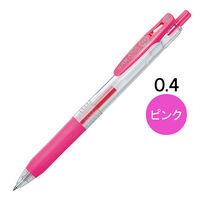 ゲルインクボールペン サラサクリップ 0.4mm ピンク 10本 JJS15-P ゼブラ