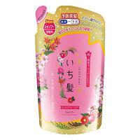 いち髪 ふんわりボリュームケア シャンプー 爽やかなザクロと心なごむ桜の香り 340ml 詰め替え用 クラシエホームプロダクツ