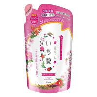 いち髪 なめらかスムースケア シャンプー みずみずしく可憐な山桜の香り 詰め替え 340ml クラシエホームプロダクツ