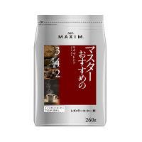 【コーヒー粉】AGF マキシム レギュラー・コーヒー マスターおすすめのモカ・ブレンド 1袋(260g)