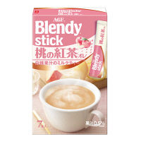 AGF ブレンディ スティック 桃の紅茶オレ 1箱(7本入)