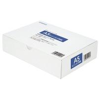 小林クリエイト 領収証用紙 A5ミシン入 2面/穴なし 白色 1箱(500枚入)