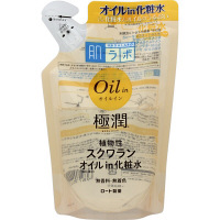 肌研(ハダラボ) 極潤オイルイン化粧水 つめかえ用 220mL ロート製薬