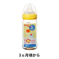 ピジョン 母乳実感哺乳びん プラスチック 240ml(アニマル) 00342 1個