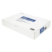 小林クリエイト 領収証用紙 A4ミシン目入り 白色 無地 1箱(500枚入)