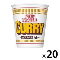 日清食品 カップヌードル カレー 1箱(20食入)