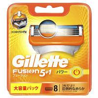 ジレット フュージョン5+1 パワー 専用替刃 8個入 髭剃り 替刃 P&G