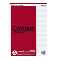 コクヨ キャンパスレポートパッドA4厚口A80枚 レ-118AN 1冊