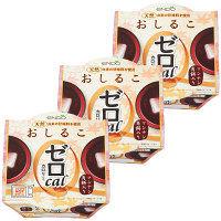遠藤製餡 ゼロカロリー おしるこ 1セット(3個入)