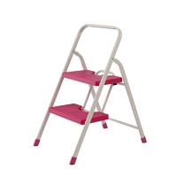 折りたたみステップ2段 1台 ピンク