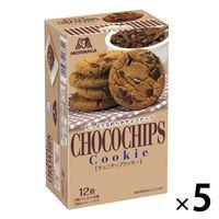 森永製菓 12枚 チョコチップクッキー 1セット(5個)