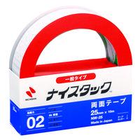 ニチバン ナイスタック(R) 紙両面テープ 幅25mm×10m NW-25