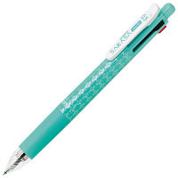 ZEBRA(ゼブラ) 多機能ボールペン サラサ 4色+シャープペン 0.5mm ブルーグリーン軸 J4SA11-BG 1セット(2本) (直送品)