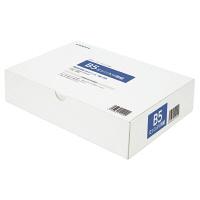 小林クリエイト 領収証用紙 B5ミシン目入り 白色 無地 1箱(500枚入)