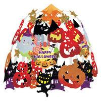 ササガワ 季節装飾 いたずらキャットハロウィン2段センター 48-3026 1本袋入