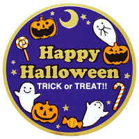 タカ印 ギフトシール Happy Halloween 21-101 (取寄品)