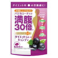 満腹30倍 ダイエットサポートキャンディ アサイー味 42g 約11粒入 グラフィコ