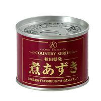 煮あずき(プレーン)  1缶
