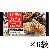 バランスアップ クリーム玄米ブラン 黒ごま黒大豆&グラノーラ 1箱(6袋入) アサヒグループ食品 栄養調整食品
