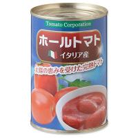 トマトコーポレーション イタリア産ホールトマト缶 1セット(6缶入)