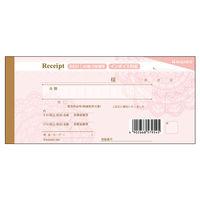 ヒサゴ デザイン領収証/レース ピンク #831 1包(5冊入) (取寄品)
