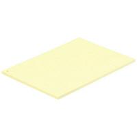 小林クリエイト カラーレセプト用紙 A4 1穴 クリーム色 1パック(100枚入)