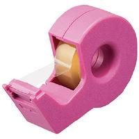 テープカッター カルカットハンディ 小巻き ピンク T-SM300P コクヨ