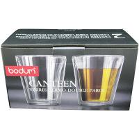 【並行輸入品】ボダム ダブルウォールグラス キャンティーン2個組 0.2L