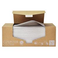 ストリックスデザイン カウンタークロス ボックスタイプ 厚手 グレー 1箱(50枚)ストリックスデザイン