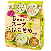 おいしさいろいろ 5つの味のスープはるさめ(ごま豆乳・とろみ中華・まろやかとんこつ・ビーフコンソメ・お茶漬け風) 1袋(10食入)
