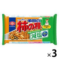 減塩 亀田の柿の種6袋詰 200g 3袋