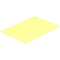 小林クリエイト カラーレセプト用紙 黄(無地カラー1穴) 1パック(100枚入)