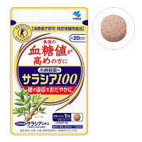 【トクホ・特保】小林製薬 サラシア 20日分 60粒 サプリメント