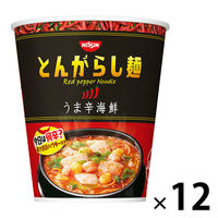 日清のとんがらし麺 うま辛海鮮 12食