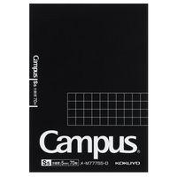 コクヨ キャンパス メモパッド A7 5mm方眼罫 70枚 メ-M777S5-D 1セット(5冊)(直送品)