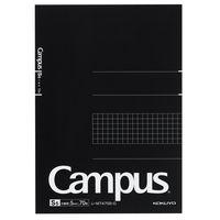 コクヨ キャンパス ノートパッド A5 5mm方眼罫 70枚 レ-M747S5-D 1セット(5冊)(直送品)